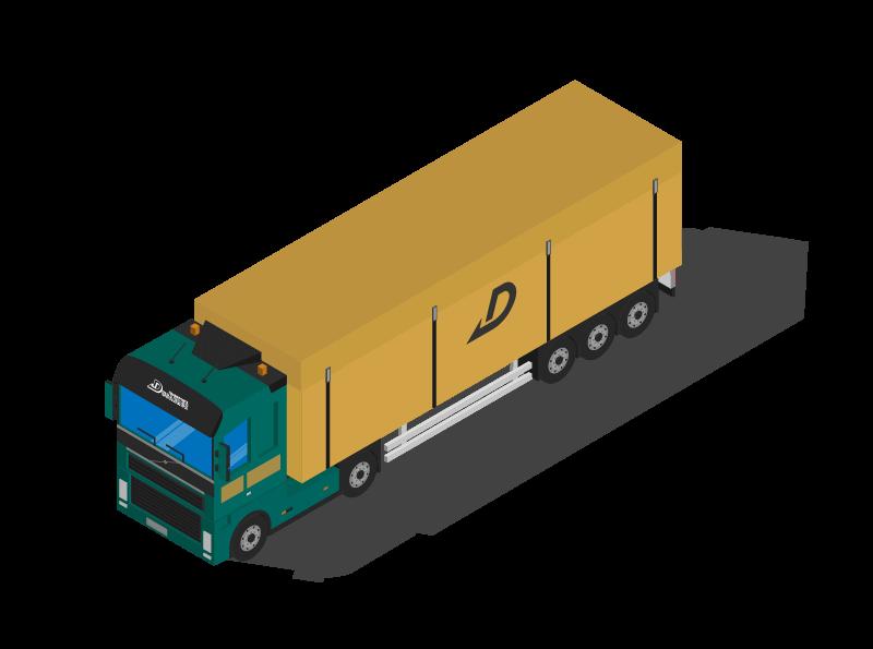 Transport en fond mouvant autonome